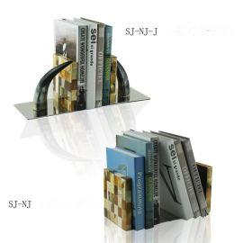 欧式创意家居饰品摆件牛角饰品书房饰品创意书挡书立