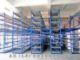 阁楼货架钢制平台重型货架高货位仓库货架天津货架厂