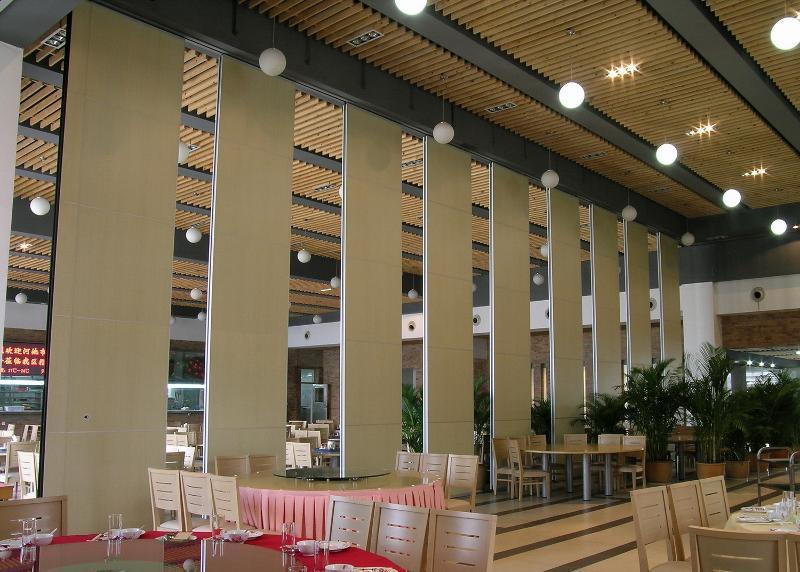 移动折叠门展厅旋转隔板太原固定隔断墙