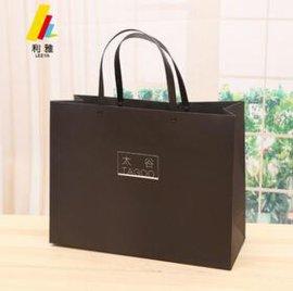 可供应精美礼品袋 服饰手提黑色包装袋