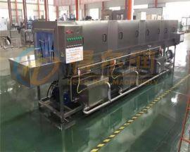 高效节能洗框机 三段水周转箱清洗机设备 专业洗筐机