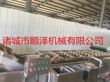 黑龙江全自动大头菜清洗机 包菜加工流水线设备