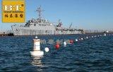 運河航道警示標誌浮標水面防碰撞塑料航標廠家