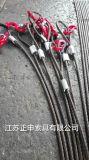 正申生产钢丝绳单腿成套索具,钢丝绳索具规格全