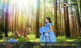 七彩青春儿童摄影 拍摄服装色彩搭配时尚潮流