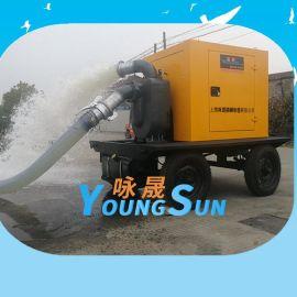 6寸污水处理柴油机水泵 8寸农田灌溉柴油机抽水机
