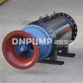灌溉泵站斜拉式潜水轴流泵--350QZB雪橇泵