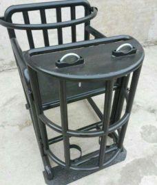 铁质方形审讯椅 标准方管审讯椅, 方管式铁质审讯椅