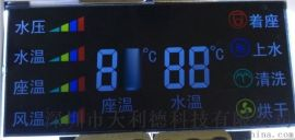 定制马桶上用段式VA液晶屏