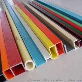 现货供应优质玻璃钢拉挤型材 玻璃钢方管 圆管