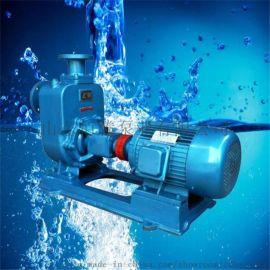 ZW无堵塞自吸泵卧式不锈钢自吸泵排污泵离心式自吸泵