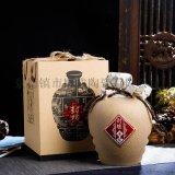 仿古陶瓷空酒瓶 一斤五斤裝封壇原漿酒罐 訂做酒瓶廠