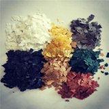 供應多彩雲母 多色外牆塗料用染色巖片