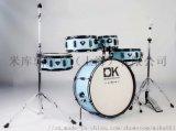 DK顶酷旅行家架子鼓特级杨木儿童架子鼓