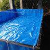 刀刮布加筋PVC塗塑帆布帆布水池養殖篷布水池