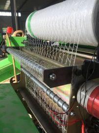 青储玉米秸秆打捆机,圆捆覆膜青贮打包机