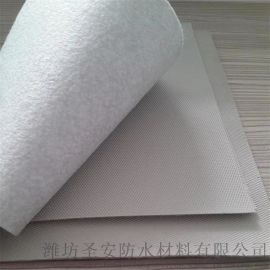 聚**乙烯pvc高分子防水卷材 带布