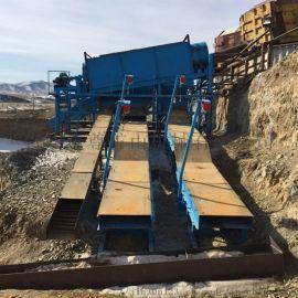 震动选金机械现货 沙金分离设备推荐 整套采金设备
