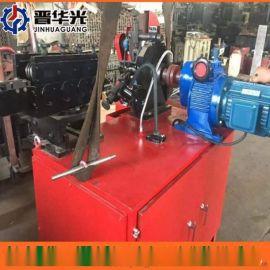 昌都地区可调速金属波纹管制管机钢管镀锌管成型设备扁管机
