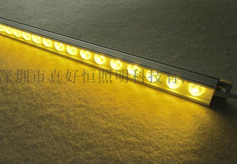 投光灯户外线条灯 瓦楞灯 洗墙灯外墙亮束光投射灯