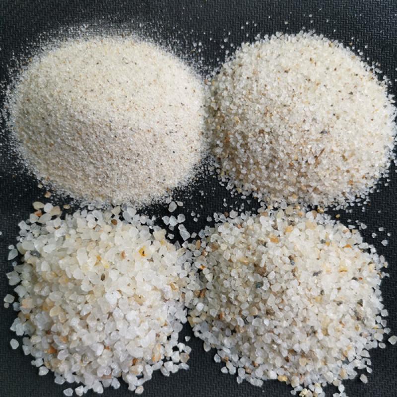 贵州石英砂滤料价格_滤料石英砂批发_贵州荣顺厂家。