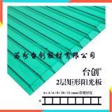 雅安市溫室陽光板 防霧滴陽光板
