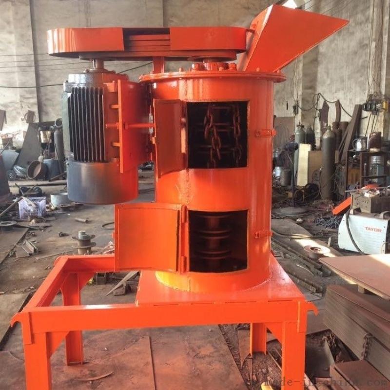 黏土炉渣链板粉碎机 刀片式有机肥粉碎机 果树猪粪垃圾粉碎机