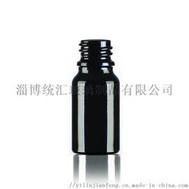 厂家直销10ml黑色原料精油瓶化妆品瓶