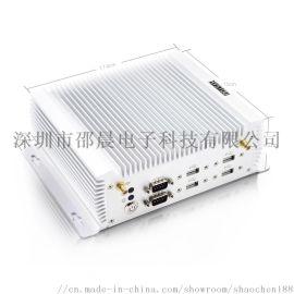 厂家原装i5-4200U迷你pc多接口软路由工控机