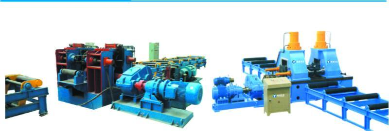 H型钢液压矫正机 自动化钢结构设备