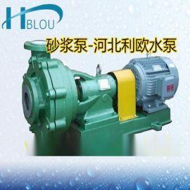 UHB-ZK耐腐耐磨砂浆泵压滤机脱 钢衬防腐泵杂质泵100UHB-ZK-120-50灰浆循环输送泵