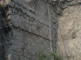 雙赫直供 被動SNS柔性邊坡防護網 山體落石防護網 鋼絲繩網