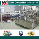 自立袋自动灌装旋盖机机,吸吸果冻自动灌装旋盖机 ZGX