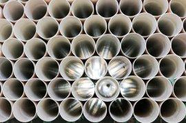 27年PVC排水管崂山牌青岛硬聚氯乙烯管