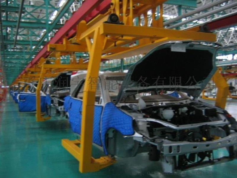 觀光車裝配線,觀光車生產線,電動汽車生產線