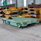 车间工件转运输轨道车厂家设计生产平板车