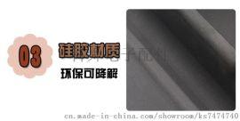 耐高温环保防摔硅胶烟灰缸