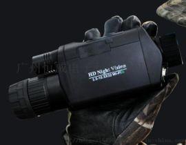 便携式单目红外夜视仪 多功能手持红外热像仪