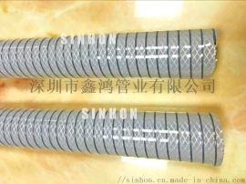 生产食品钢丝管 供应卫生软管   透明硅胶钢丝管