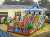 户外儿童游乐充气城堡项目有许多优点