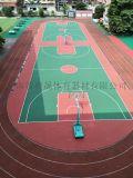 奧晟體育提供長沙室內外丙烯酸籃球場建設施工