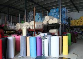 批发彩色化纤羊毛毡 装饰 毛毡背景布 可定做异形厂家直供1-20mm彩色毛毡无纺布毛毡布颜色齐全**环保