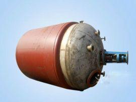 二手1-10吨不锈钢反应釜二手不锈钢反应釜搪瓷反应釜设备型号全