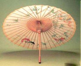 民间文化遗产桐油纸伞