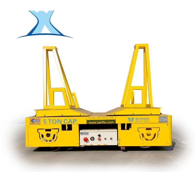 數控設備專用無軌膠輪車定製電動遙控360°轉彎蓄電池無軌道平車