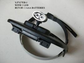 LED带灯头盔放大镜(YJ7127EB-1)