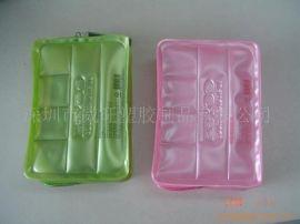 专业生产化妆品袋,PVC包装袋,加工电压袋