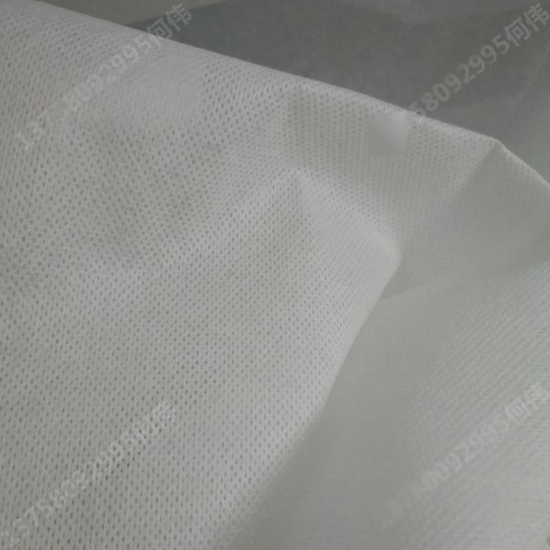 新价供应多规格高强复合PET水刺无纺布_涤纶粘胶水刺厂产地货源