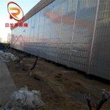 厂区声屏障 车间消音降噪金属墙 厂区三角尖式吸声屏 厂家供应