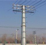 電力鋼杆廠家  價供應甘肅慶陽13米10KV電力鋼杆